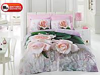 Постельное белье Cotton box Ранфорс Floral Seri 3D ANNA PEMBE