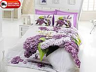 Постельное белье Cotton box Ранфорс Floral Seri 3D VILMA LILA