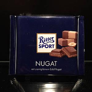 Нежное пралине со вкусом Нуги Ritter Sport Nugat