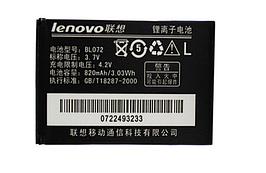 Аккумулятор для Lenovo A320 S520 BL-072 820 mah