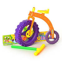 "Детская игрушка-каталка ""Велосипед"" 3623 на палочке"