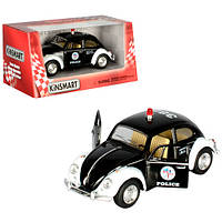"""Машина Kinsmart KT5057WP Полиция """"Volkswagen Classical Beetle 1967"""""""