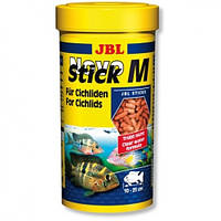 Корм для плотоядных рыб JBL Novo Stick M 1л
