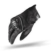Мотоперчатки Shima Spark кожаные черные