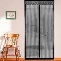 Магнитная антимоскитная сетка на дверь 210*100