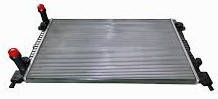 Радиатор 1.9D/1.4i/1.6i  -AC FIAT Doblo 01- не оригинал