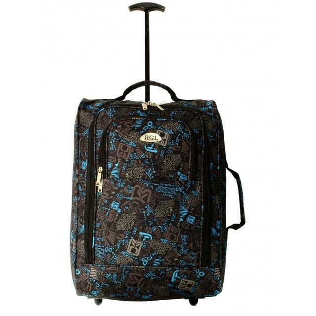Дорожная сумка на колесах B1 (узоры)