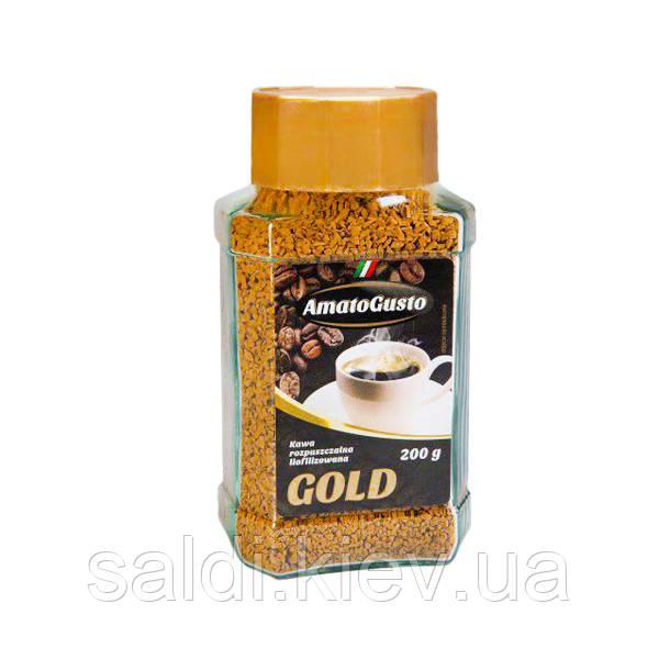 Кофе растворимый Amato Gusto Gold 200g Киев