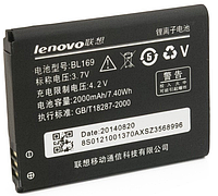 Аккумулятор для Lenovo S560 A789 BL-169 2000 mah
