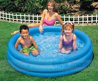 """Детский надувной бассейн Intex """"Кристалл"""" (114х25см) 59416"""