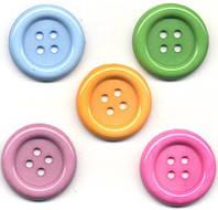 Пуговицы Botanical Buttons Galore 35 мм - 5 шт., фото 1