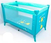 Детский манеж Bambi M 0526 голубой