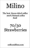 Кофе растворимый с зерновым 70/30 Клубника