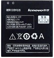 Аккумулятор для Lenovo S720 S750 S870 A800 A820 BL-197 2000 mah