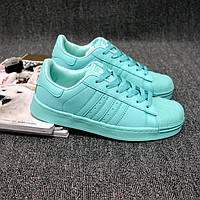 Кроссовки Adidas Superstar бирюза