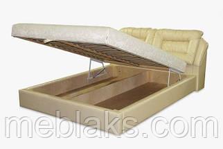 Кровать подъемный механизм+ мягкое изголовье  Дуэт (1,8м х 2,0м)   Udin, фото 2