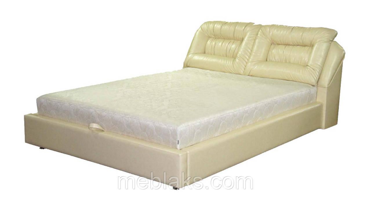 Кровать подъемный механизм+ мягкое изголовье  Дуэт (1,8м х 2,0м)   Udin
