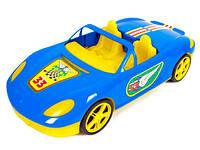 Машина детская игрушечкая кабриолет с наклейками 46см 07-701-1N