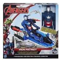 HASBRO  B0431 AVN Титаны: Фигурки Мстителей на  транспортном средстве в ассорт