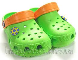 Обувь детская из эва для бассейна салатовые
