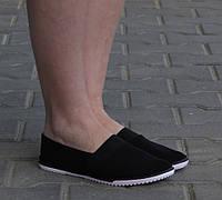 Женские слипоны Кристина  Черный, фото 1