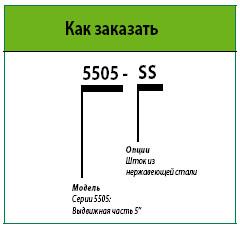 маркировка 5505 ротора rain bird