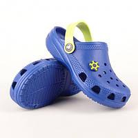 Пляжная детская обувь из эва синие, фото 1