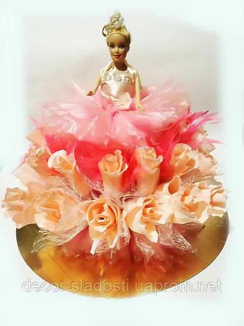 "Букет из конфет""Кукла"""
