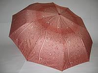 "Женский зонтик автомат, ""капли дождя"" №713 от фирмы ""MAX KOMFORT"""