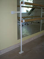 Крепления для станка хореографического (настенно-напольный) 2-х рядный