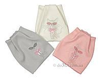 Шапка для девочки Sample 16258 р.48 розовый