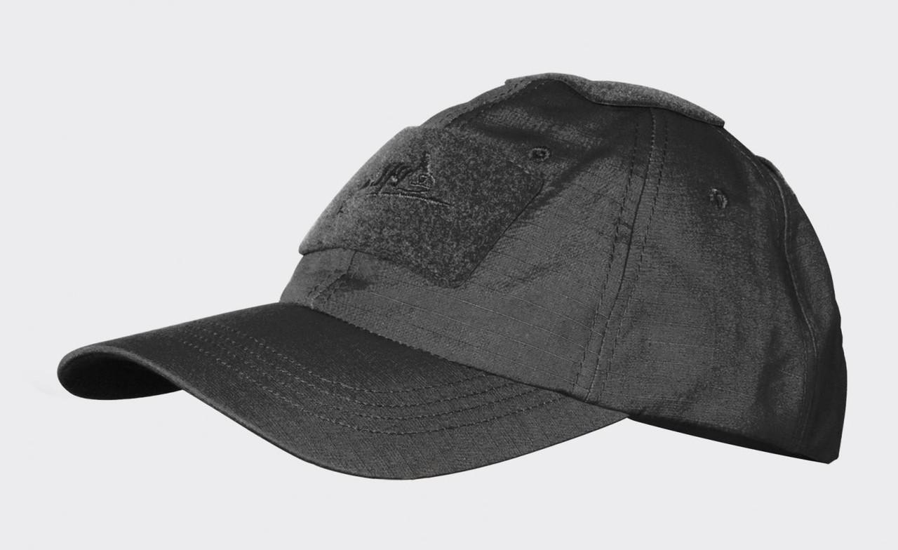 Тактическая бейсболка Helikon-Tex® Tactical Baseball Cap PR - Черная