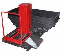 Ванна для проверки герметичности грузовых и легковых колес автомобиля