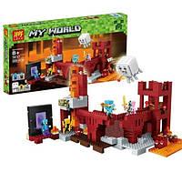 Конструктор 79147 (10393) Minecraft Подземная крепость, 589 дет