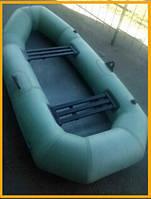 Лодка резиновая надувная двухместная Язь