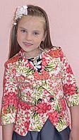 Пиджак летний для девочек