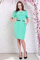 Очень красивое платье из качественной ткани с украшением