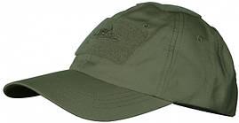 Тактическая бейсболка Helikon-Tex® Tactical Baseball Cap PR - Олива