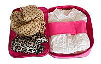 Органайзер для рубашек/блузок ORGANIZE. Цвет: розовый.