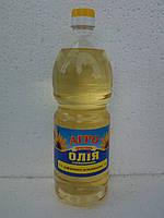 Масло подсолнечное рафинированное дезодорированное 1л.