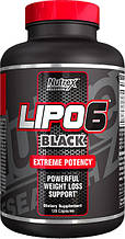 Спалювач жиру LIPO-6 BLACK 120 капсул до 06/20года