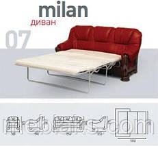 Диван Милан (французская раскладушка)   Udin, фото 3