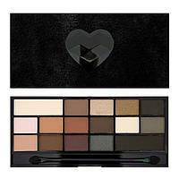 Палетка теней для век Makeup Revolution Black Velvet