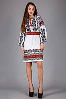 Эксклюзивное женское вышитое платье., фото 1