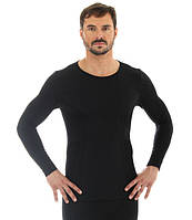 Мужская термо футболка бесшовная Brubeck Wool Comfort