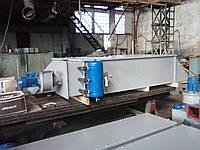 Фильтр рукавный горизонтальный для зерновой пыли ФЛГ