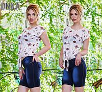 Бриджи женские джинсовые /с05