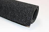 Резина набоечная каучуковая т. 6.0 мм размер 100*100 см цвет черный