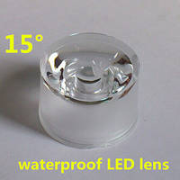 Линза для светодиода LED Lens 1-3W 15° с держателем 20mm
