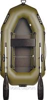 Надувная гребная одноместная лодка Bark B210C